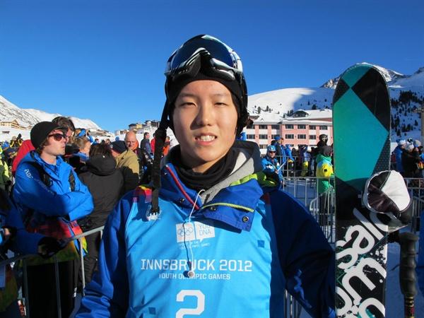 프리스타일 스키유망주 김광진  지난 2012년 1월 16일, 오스트리아 인스브루크에서 열리는 제1회 동계유스올림픽에서 남자 프리스타일스키 하프파이프 8위를 차지한 김광진(당시 17세·동화고)