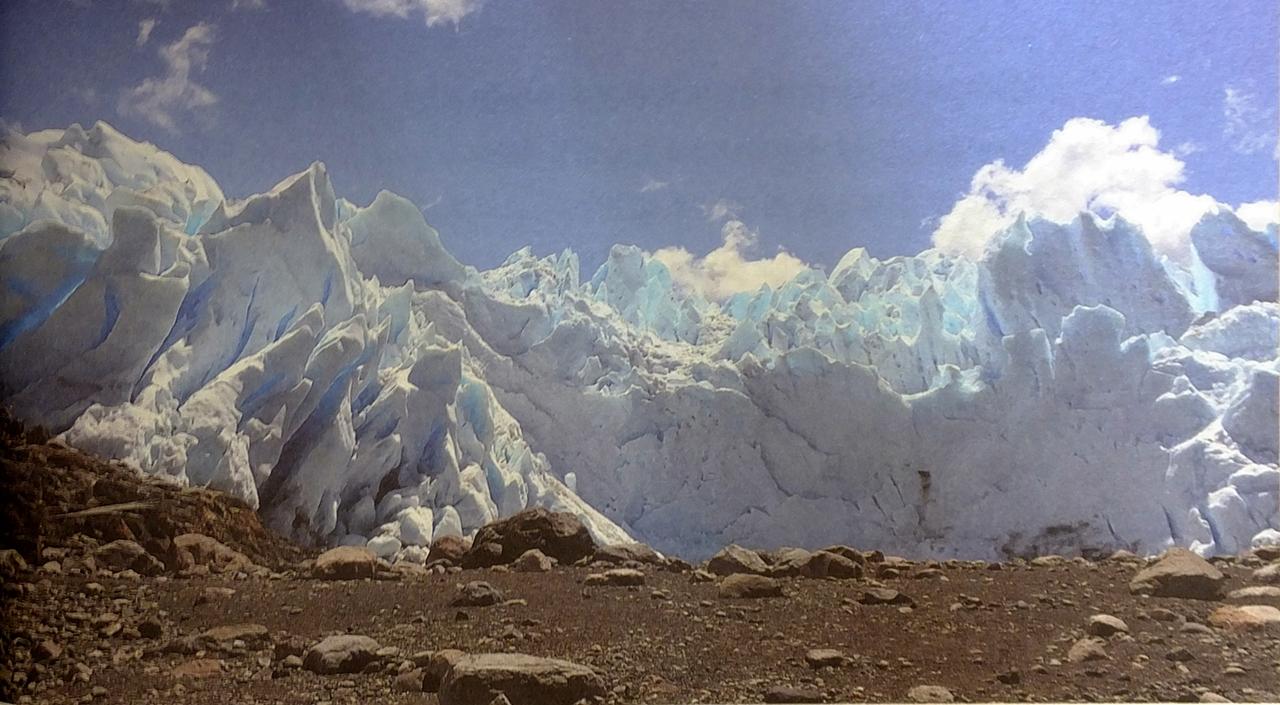 비취색으로 빛나는 신비로운 '페리토 모레노' 빙하.