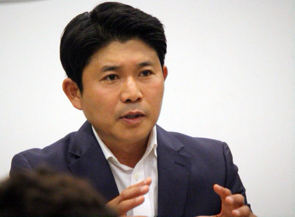 다가오는 6월 지방선거에 더불어민주당 공주시장 후보로 나선 조유상 후보.