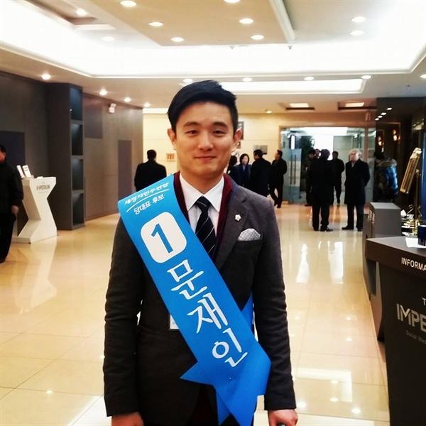 최근 강남구청장에 출마할 뜻을 밝힌 여선웅 강남구 의회 의원(더불어민주당).