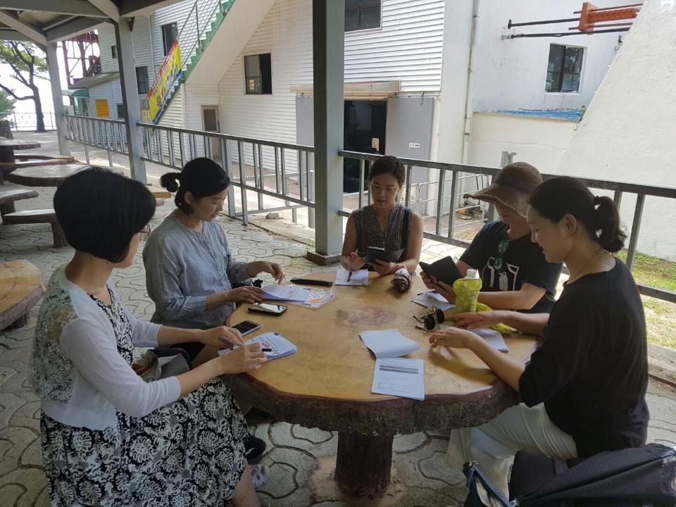 마을공동체 활동을 하고 있는 홍석희(35)씨