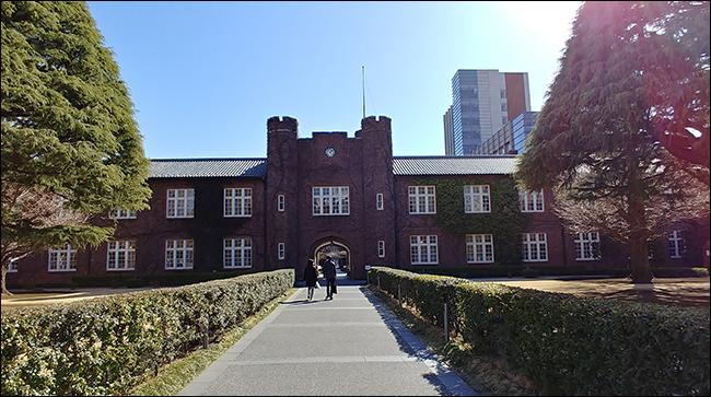 144년 역사를 자랑하는 도쿄 릿쿄대학 본관