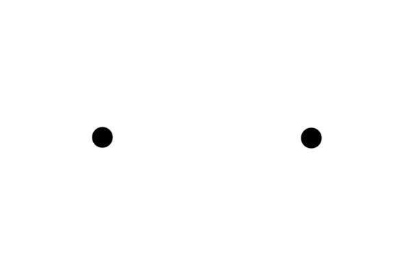 무엇이 보이는가. 두 눈? 콧구멍?