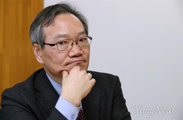 정대화 상지대 총장직무대행