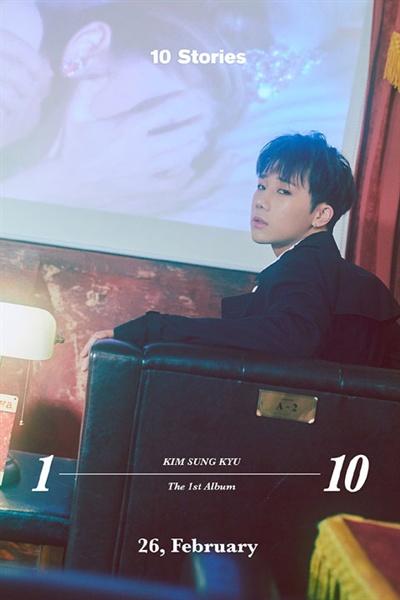 26일 새 솔로 음반 < 10 Stories >를 발표한 인피니트 김성규