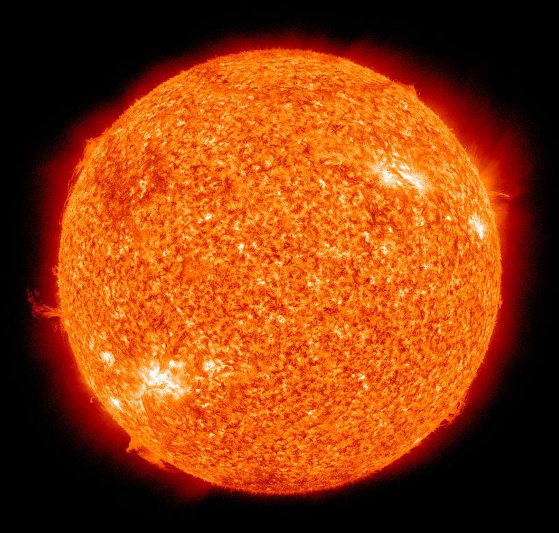 미국 항공우주국(NASA)이 찍은 태양.
