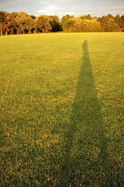 혼자 놀기의 진수  아일랜드 더블린의 메리온 스퀘어에서 혼자 놀면서 찍은 사진.