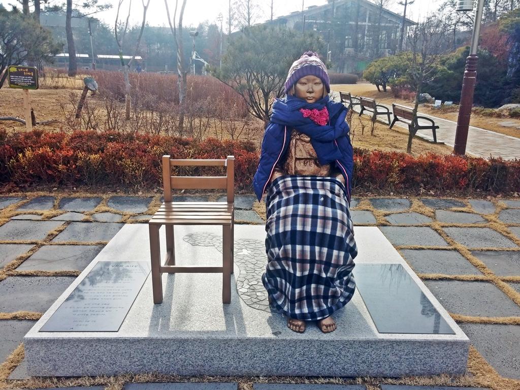 군포 평화의 소녀상