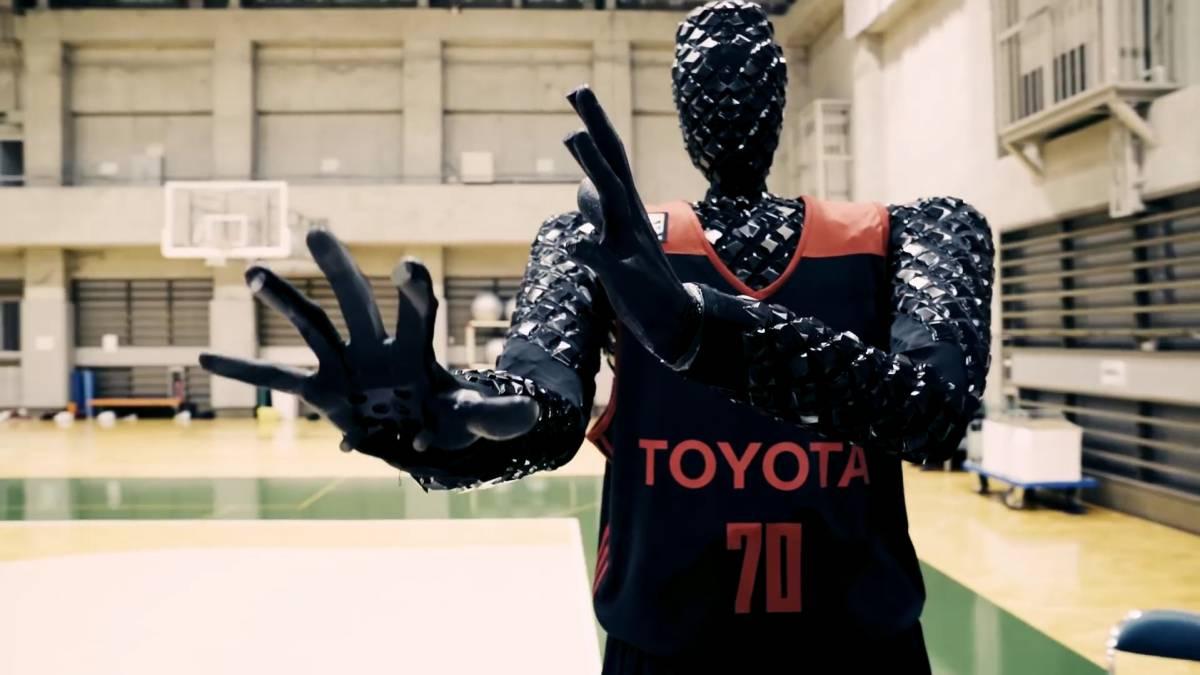 도요타가 개발한 로봇 '큐'