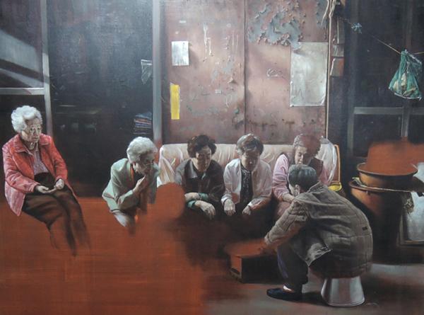 헬레나 파라다 김(Helena Parade Kim) I '우암도에서 온 여인들(The women from Uamdo)' 2017