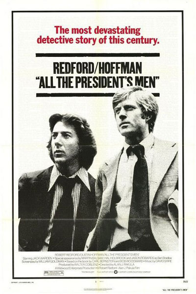 영화 <모두가 대통령의 사람들>의 포스터
