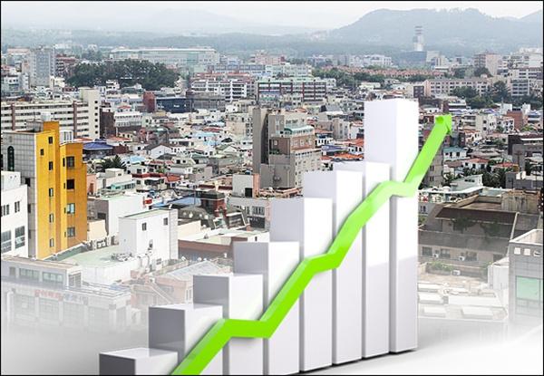 제주 지역 부채가 가파르게 상승하고 있다.