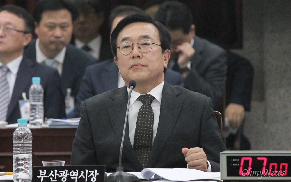 6.13 지방선거 자유한국당 후보로 공천이 확정된 서병수 부산시장