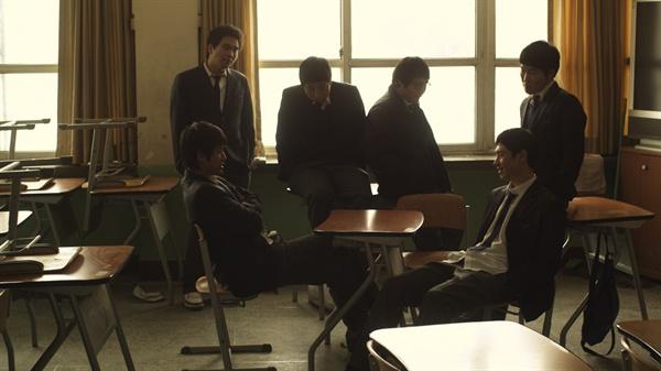 남교실에서 튀어나온 미투, 분위기가 '싸해졌다'. (사진은 영화 파수꾼 스틸컷, 기사의 내용과 직접적인 관련이 없습니다.)