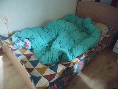 싱글침대 이번에 주워온 싱글침대다.