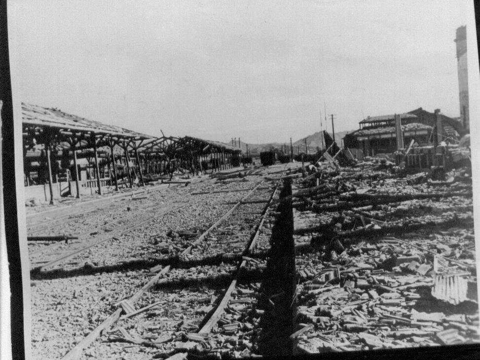 1950. 9. 30. 전란으로 폐허가 된 대전역.