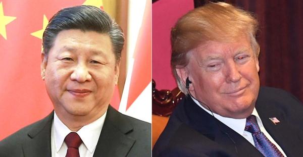 시진핑 중국 국가주석과 트럼프 미국 대통령(자료사진).