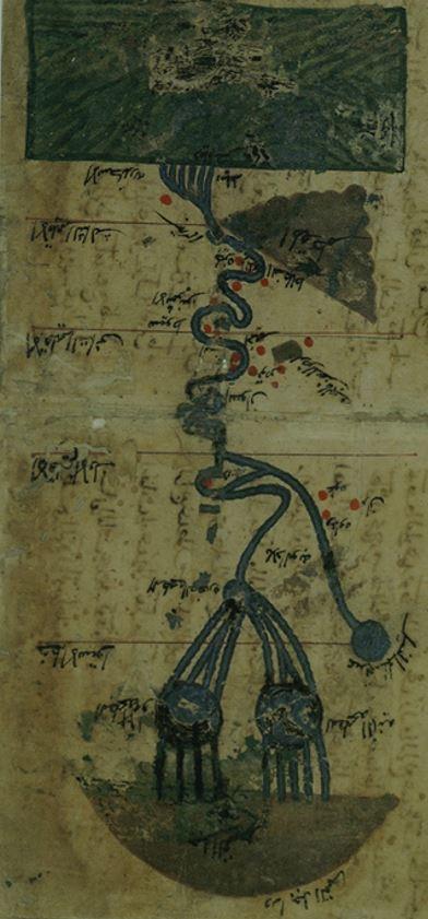 나일강 달의 산과 유로