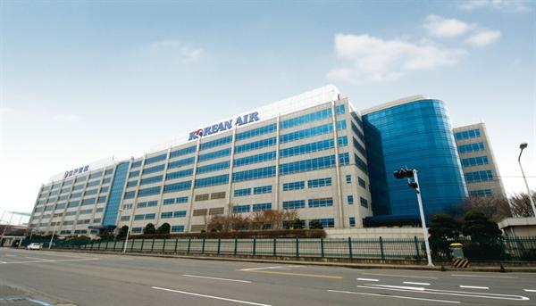 서울 강서구에 있는 대한항공 본사.