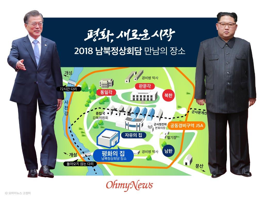 2018 남북정상회담 만남의 장소 평화의집