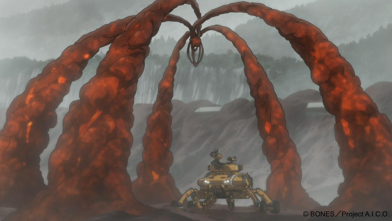 일본 애니메이션 시리즈 'A.I.C.O. 인카네이션' 본편 캡처 이미지