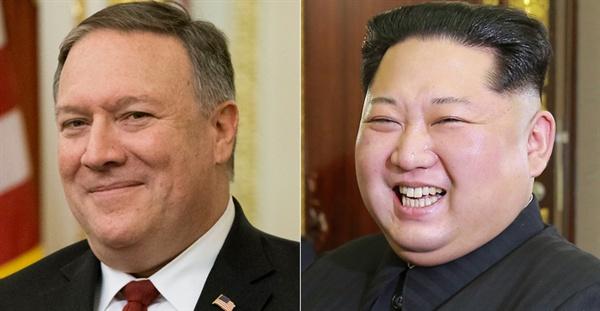 <워싱턴포스트>는 부활절 주말(3월 30일~4월 1일) 마이크 폼페이오 미국 국무장관 지명자가 북한에 가 김정은 국무위원장을 만났다고 보도했다.