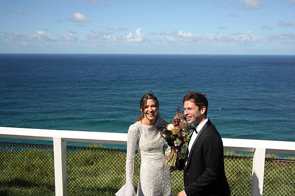 호주의 관광명소여서 그런지 신혼부부의 모습도 보였다.