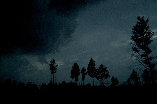 잠들기 전, 하늘이 심상치 않다. 천둥ㆍ번개에 강풍과 함께 비까지 떨어진다.