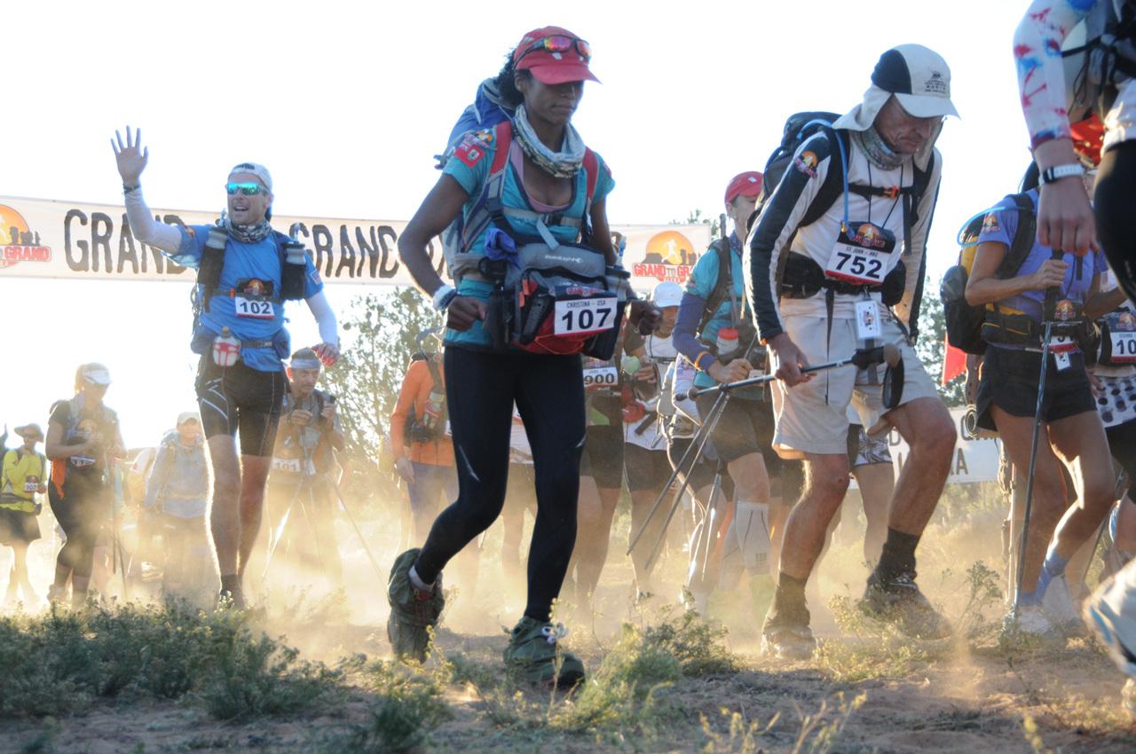 출발! Grand to Grand Ultra 271km Race