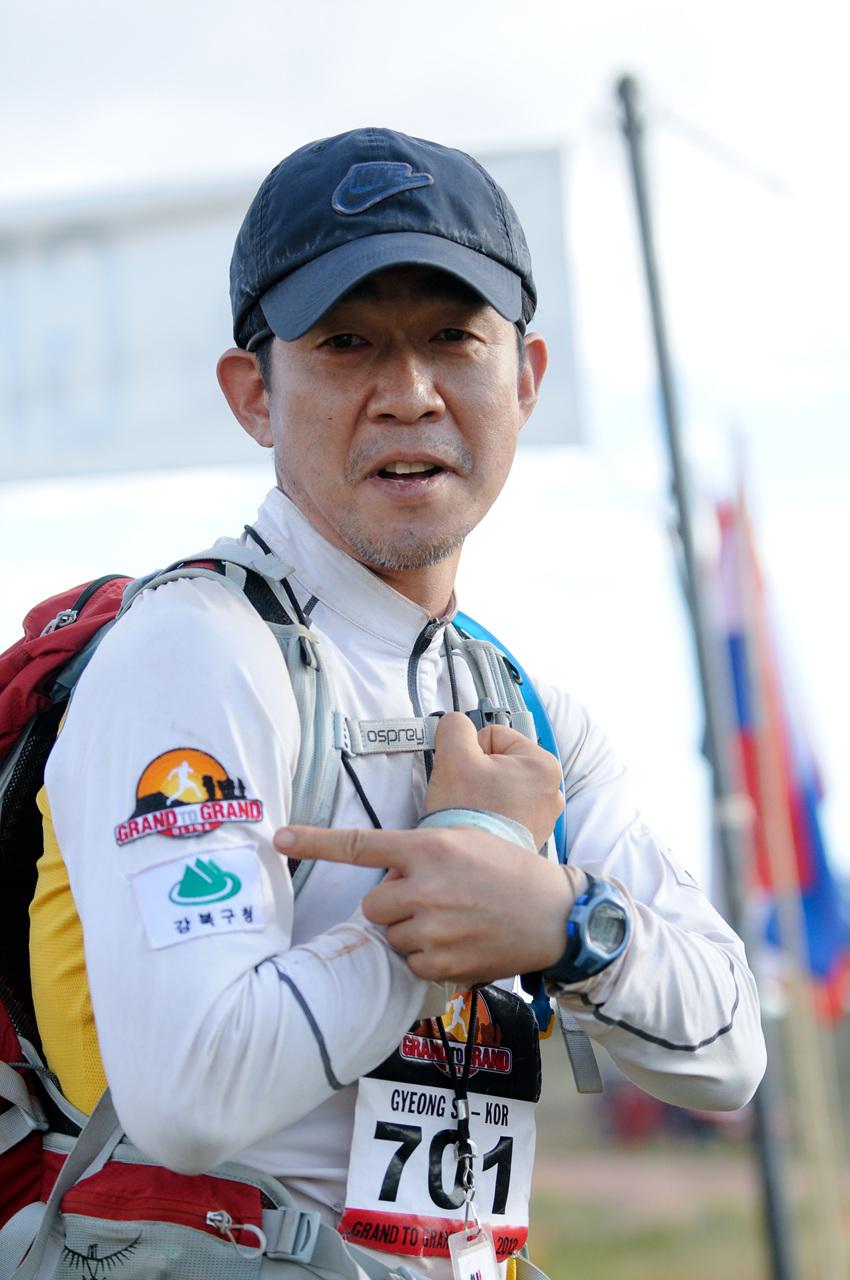 나는 오지를 달리는... 대한민국 대표선수다.
