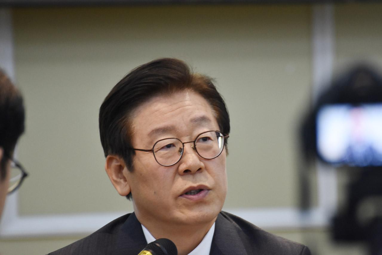 더불어민주당 경기도지사 이재명 후보