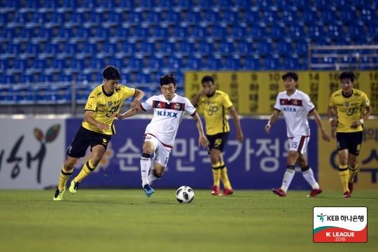 전남과 서울 경기 모습