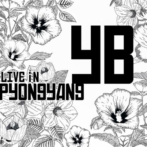 YB의 평양 공연 실황 < 2018 YB Live in Pyongyang > 표지
