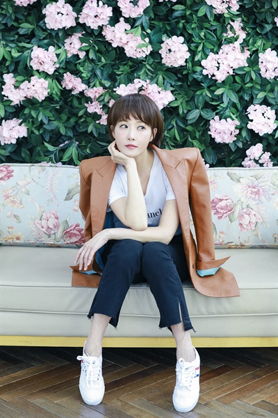 김선아 배우 김선아가 27일 오후 서울 신사동의 한 카페에서 지난 24일 종영한 SBS 월화드라마 <키스 먼저 할까요?> 종영 인터뷰를 가졌다.
