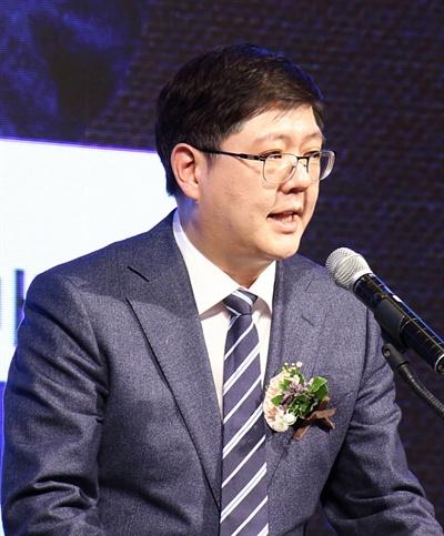 김홍걸 민족화해협력범국민협의회(민화협) 대표 상임의장.