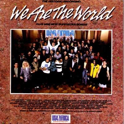1985년 유에스에이 포 아프리카(USA For Africa)의 'We Are The World'