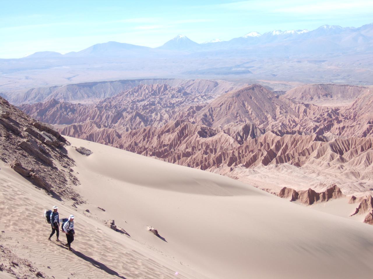 시작장애인 이용술님과 함께한 아타카마사막 250km 레이스