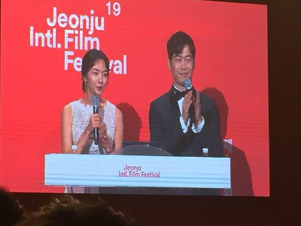 제19회 전주국제영화제(JIFF) 개막식이 5월3일(목)오후 7시, 전주시 고사동 영화의 거리 '전주돔'에서 배우 김재원과 채수빈의 사회로 열렸다.