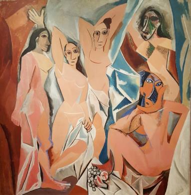 아비뇽의 처녀들 현대 미술사에서 최초의 입체주의 작품으로 평가받는 피카소의 <아비뇽의 처녀들>에 모델이 되어준 것도 올리비에였다.