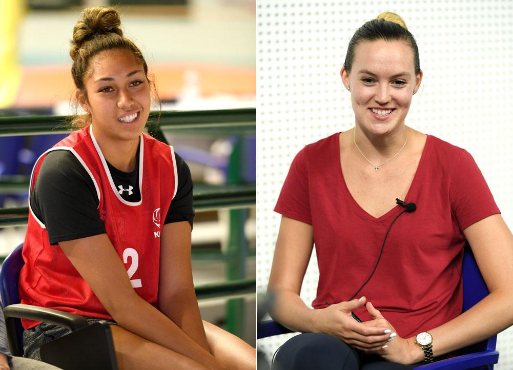 어나이(23세·188cm)와 알레나(29세·190cm)... 2018~2019시즌 V리그 트라이아웃에서 각각 IBK기업은행과 KGC인삼공사에 지명된 선수들이다.