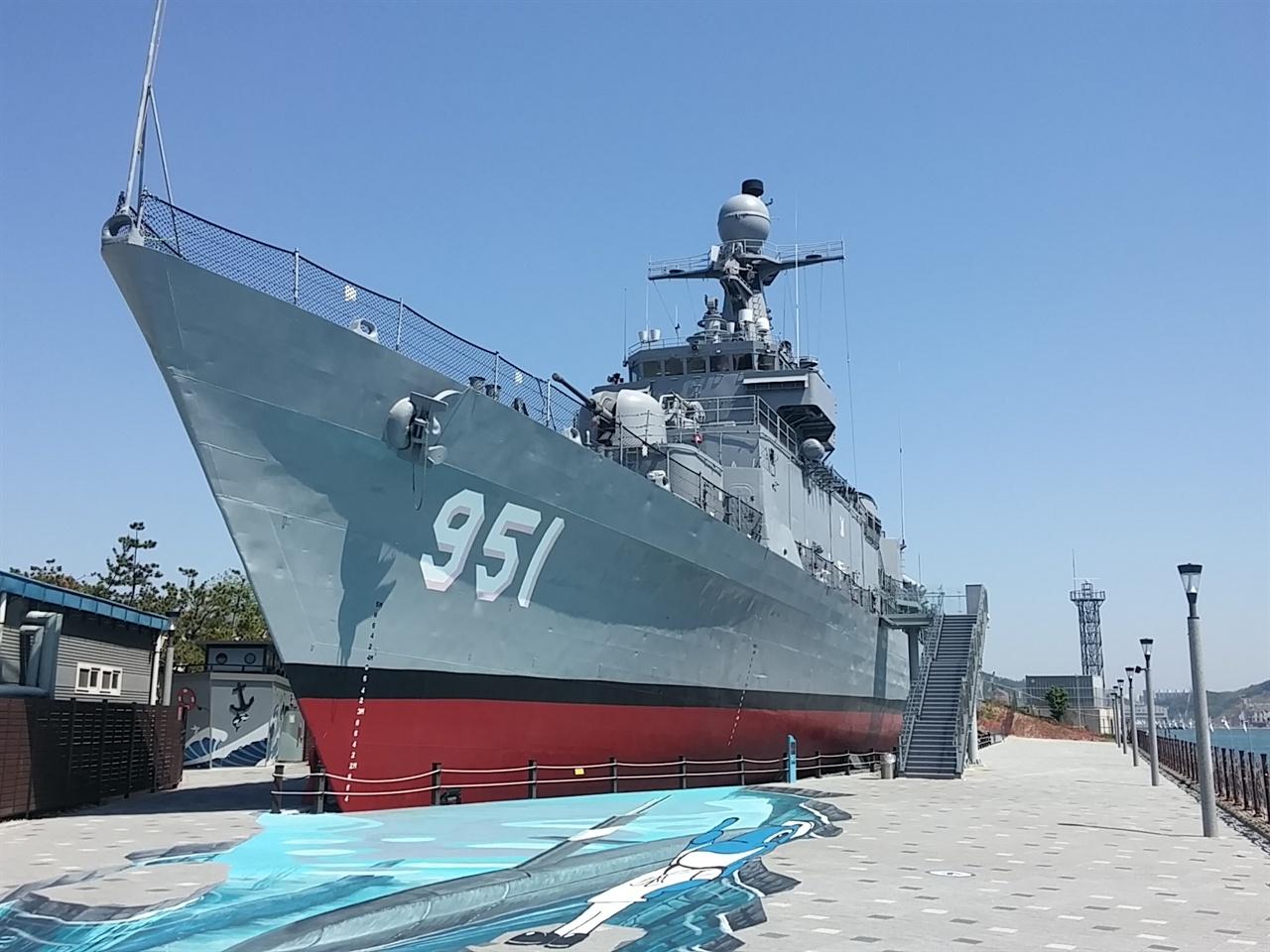 울산함 FF-951의 위용