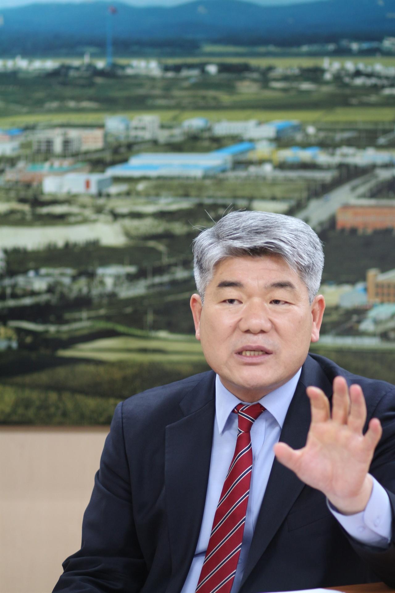 김진향 개성공업지구지원재단 이사장