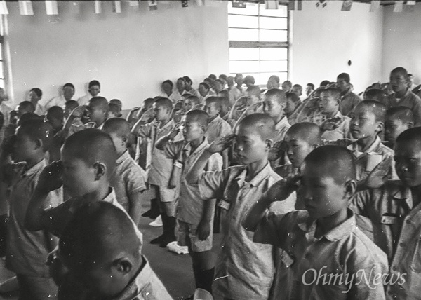 1970년대 군사독재 정권 시절에도 선감학원은 소년 강제 수용소였다.