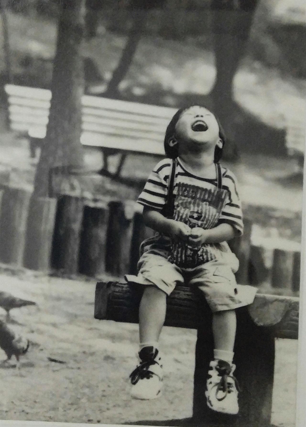 둘째딸 조현우(玄愚) 둘째딸의 어렸을 때 모습