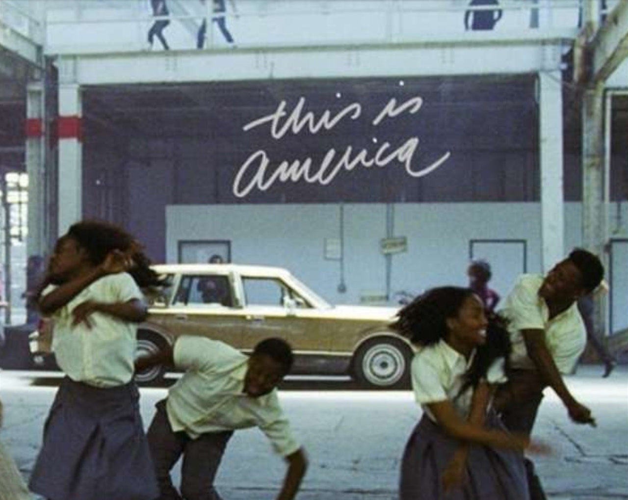 <This is America> 커버 사진.