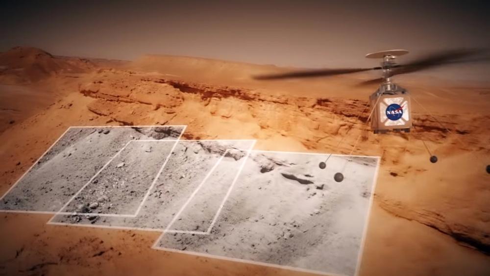 화성 헬리콥터