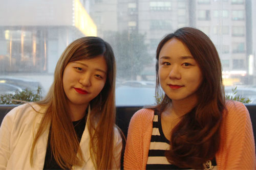 이혜연(왼쪽)ㆍ신우리 인천퀴어문화축제 준비위원회 공동대표.