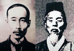 김광제(왼쪽)와 서상돈