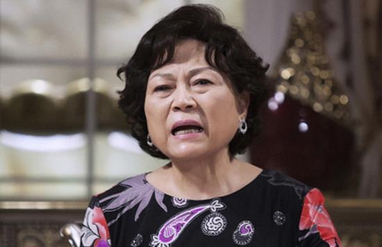 SBS <세 번 결혼하는 여자>에서 오은수(이지아 분)의 시어머니 최여사(김용림)