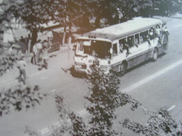 1980년 5월 광주. 국립5.18민주묘지에서 찍은 사진.